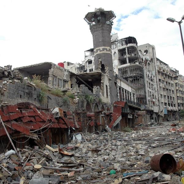 Homs im Jahr 2014