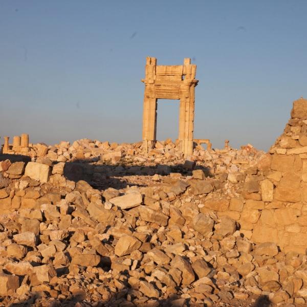 Oasenstadt Palmyra vom IS zerstört