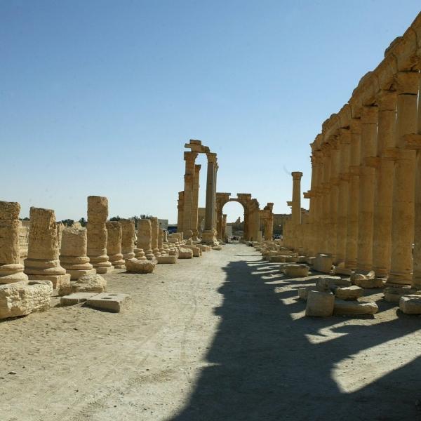 Antike Oasenstadt Palmyra