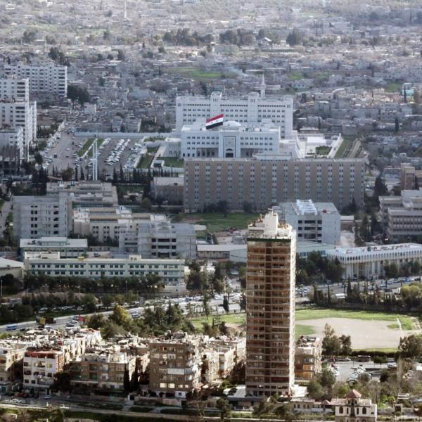 Damaskus vor dem Krieg