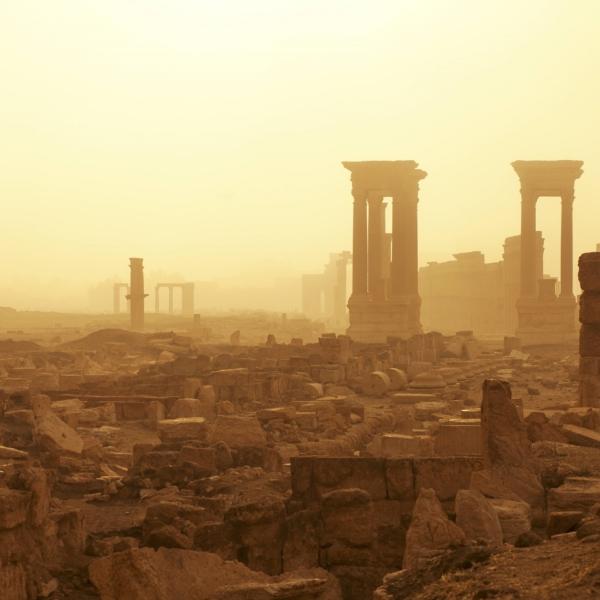 Zerstörtes Palmyra